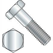 """Hex Cap Screw - 1/4-20 x 1"""" - Steel - Zinc CR+3 - Grade 2 - FT - Pkg of 100 - Brighton-Best 403018"""