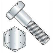 "1/2-13 x 5"" Hex Head Cap Screw - Steel - Plain - UNC - Grade 8 - USA - 25 Pack - BBI 452322"
