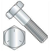 "7/16-14 x 1"" Hex Head Cap Screw - Carbon Steel - Zinc - UNC - Grade 5 - USA - 100 Pack - BBI 457218"