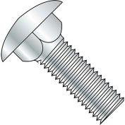 "7/16-14 x 1"" Carriage Bolt - Round Head - Steel - Zinc - UNC - FT - Grade 5 - Pkg of 100"
