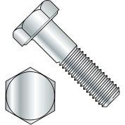 "Hex Bolt - 1/4-20 x 2"" - Grade A - Steel - Zinc CR+3 - UNC - PT - A307 - Pkg of 125 - BBI 494009"