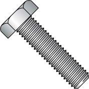 """Hex Tap Bolt - 1/4-20 x 2"""" - Grade A - Low Carbon Steel - Zinc CR+3 - FT - UNC - A307 - Pkg of 125"""