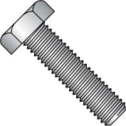 "Hex Tap Bolt - 1/4-20 x 2-1/2"" - Grade A - Low Carbon Steel - Zinc CR+3 - FT - UNC - A307 - 75 Pk"