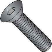 Flat Socket Cap Screw - M6 x 1.00 x 16mm - Steel - Thermal Black Oxide - FT - UNC - 100 Pk