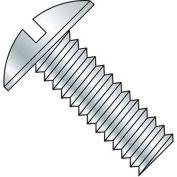 """1/4-20 x 2-1/2"""" Machine Screw - Truss Head - Slotted - Steel - Zinc CR+3 - FT - 100 Pk - BBI 584671"""