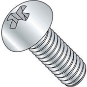 "1/4-20 x 3"" Machine Screw - Phillips Round Head - Steel - Zinc - FT - Pkg of 100 - BBI 588679-PR"