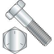 "Hex Cap Screw - 1/4-20 x 2"" - Carbon Steel - Zinc CR+3 - Gr 5 - PT - UNC - Pkg of 100 - BBI 847018"