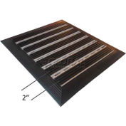 "Babcock-Davis® Roll Up Entrance System M-700RT, Aluminum Hinge & Rail, 75-1/4""W X 75-1/4""D"