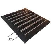 "Babcock-Davis® Roll Up Entrance System M-750RT, Vinyl Hinge, Aluminum Rail, 75-1/4""W X 51-1/4""D"