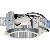 "Lithonia LF8N 2/26DTT MV 8"" Recessed Commerical Grade Housing For Compact Fluor. Horizontal 2-Lamp"