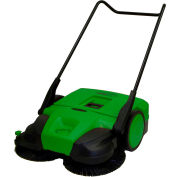 "Bissell 31"" Deluxe Triple Brush Push Power Sweeper Turbo, 13.2 Gallon Capacity - BG477"