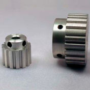 """11 Tooth Timing Pulley, (Xl) 1/5"""" Pitch, Clear Anodized Aluminum, 11xl037-6a2 - Min Qty 10"""