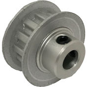 """12 Tooth Timing Pulley, (Xl) 1/5"""" Pitch, Clear Anodized Aluminum, 12xl025-6fa3 - Min Qty 10"""