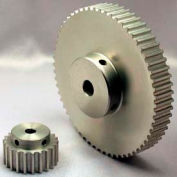 15 Tooth Timing Pulley, (Htd) 5mm Pitch, Clear Anodized Aluminum, 15-5m09m6a6 - Min Qty 8