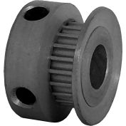 20 Tooth Timing Pulley, (Pwrgrip Gt) 2mm Pitch, Clear Anodized Aluminum, 20-2p03-6ca3 - Min Qty 8