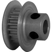 20 Tooth Timing Pulley, (Pwrgrip Gt) 2mm Pitch, Clear Anodized Aluminum, 20-2p03-6fa2 - Min Qty 8