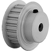 """20 Tooth Timing Pulley, (Xl) 1/5"""" Pitch, Clear Anodized Aluminum, 20xl037-6fa3 - Min Qty 8"""