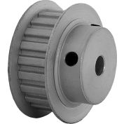 "21 Tooth Timing Pulley, (Xl) 1/5"" Pitch, Clear Anodized Aluminum, 21xl037-6fa3 - Min Qty 8"