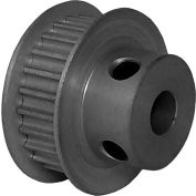 24 Tooth Timing Pulley, (Htd) 3mm Pitch, Clear Anodized Aluminum, 24-3m06m6fa6 - Min Qty 8