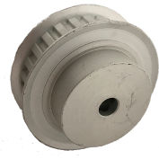"""26 Tooth Timing Pulley, (Xl) 1/5"""" Pitch, Clear Anodized Aluminum, 26xl037-6fa3 - Min Qty 8"""