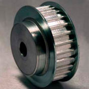 27 Tooth Timing Pulley, 5mm Pitch, Aluminum, 27at5/27-2 - Min Qty 2