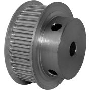 36 Tooth Timing Pulley, (Htd) 3mm Pitch, Clear Anodized Aluminum, 36-3m09m6fa6 - Min Qty 5
