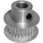 56 Tooth Timing Pulley, (Pwrgrip Gt) 2mm Pitch, Clear Anodized Aluminum, 56-2p06-6fa3 - Min Qty 5