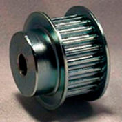 18 Tooth Timing Pulley, (Pwrgrip Gt) 5mm Pitch, Clear Zinc Plated Steel, P18-5mgt-15-Mpb - Min Qty 3