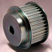 28 Tooth Timing Pulley, (Pwrgrip Gt) 5mm Pitch, Clear Zinc Plated Steel, P28-5mgt-25-Mpb - Min Qty 2