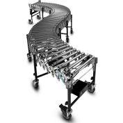 "BestFlex™ Powered Roller Conveyor BFP1524245 - 8'L to 24'L - 24"" BFW Steel Rollers 100 Lb./ft."