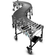 "BestFlex™ Powered Roller Conveyor BFP1524365 - 12'L to 36'L - 24"" BFW Steel Rollers 100 Lb./ft"