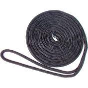 "Buccaneer Rope Nylon Double Braid Dock Line 1/2"" x 25', Black - 30-64425"