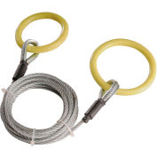 Timber Tuff™ Steel Log Choker Cable with 2 Tow Rings TMW-38 - 1500 Lb. Pulling Capacity