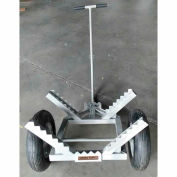 "Timber Tuff™ Log Dolly with Load Binder TMW-440MLDLBC - 440 Lb. Cap. - 16"" Tires"