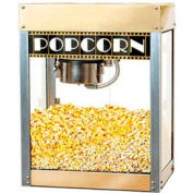 BenchMark USA 11048 Premier Popcorn Machine 4 oz Gold/Silver 120V 930W