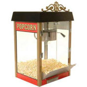 BenchMark USA 11080 Street Vendor 8 oz Red Popcorn Machine , 120V 1430W