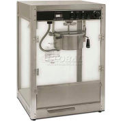 Benchmark Screen Commercial Popcorn Machine, 8 Ounce Popper, Silver - 11087