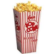 Benchmark Popcorn Scoop Boxes , .75Oz., 100 Count - 41044