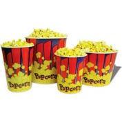 BenchMark USA 41470 Popcorn Buckets 170 oz 50/Tubs