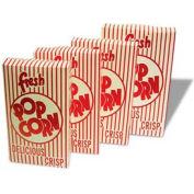 BenchMark USA 41574 Closed Top Popcorn Boxes 2.3 oz 50/Boxes