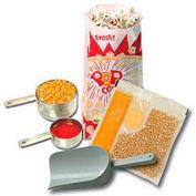 BenchMark USA 45004 Popcorn Popper Starter Kit 4 Oz. Poppers