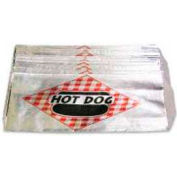 Benchmark USA 68002, Hot Dog Bags, Foil, 1,000/Case