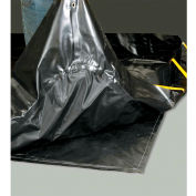 Black Diamond Ground Pad For Stinger Spillpal™, 40'L x 63'W, Black
