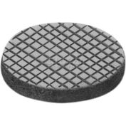 "Bud Industries F-8038 Rubber Feet, 0.75"" Dia. x 0.12"" High, Pack of 1"