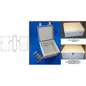 "Bud NBF-32138 UL/NEMA/IEC NBF Series Style A Indoor Bx W/ Solid Door 20.86"" L x 16.92"" D x 7.87"" H"