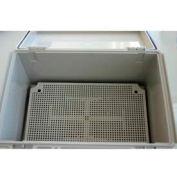 """Bud NBX-10977-PL Plastic Internal Panel 6.5"""" W x 2.56"""" H"""