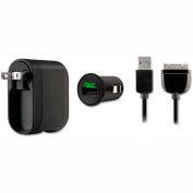 Belkin® Swivel Car Charger, 2.1 Amp Port, Detachable Lightning Cable