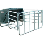 "Behlen Country Calf Creep Feeder W/ Molded-in Side Defectors & Simple Lid, 750Lbs-25 Calf Cap. 47""L"