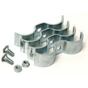 """Behlen Country Galvanized Butterfly Clamps For 1-5/8"""" Tubing / Corral Panel  2 Pair"""