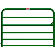 "Behlen Country 16 Gauge Heavy-Duty Gate 68"" Usable Length, 72""L x 2""W x 50""H, Green"